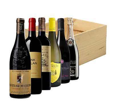 6 Bottle Fine French Gift Box