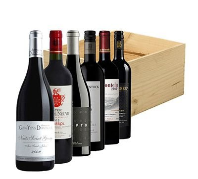 6 Bottle Fine World Reds Gift Box